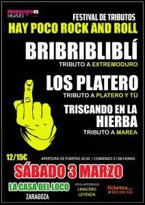 HAY POCO ROCK AND ROLL @ LA CASA DEL LOCO | Zaragoza | Aragón | España