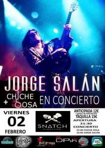 JORGE SALÁN + CHICHE SOSA @ SNATCH CLUB | Zaragoza | Aragón | España
