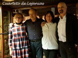 CUARTETO DE LEJANÍAS @ LA BÓVEDA DEL ALBERGUE | Zaragoza | Aragón | España