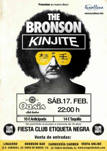 THE BRONSON @ OASIS CLUB TEATRO | Zaragoza | Aragón | España