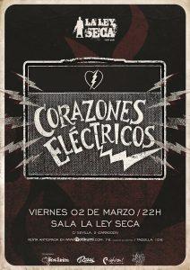 CORAZONES ELECTRICOS @ LA LEY SECA | Zaragoza | Aragón | España