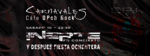 INERTE @ DPch ROCK | Zaragoza | Aragón | España