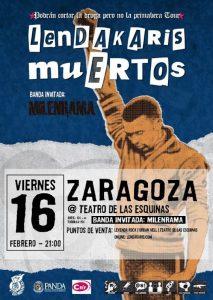 LENDAKARIS MUERTOS + MIELENRAMA @ TEATRO DE LAS ESQUINAS | Zaragoza | Aragón | España