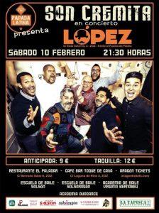 SON CREMITA @ SALA LÓPEZ | Zaragoza | Aragón | España