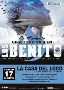 LOS BENITO (KAMELAS) @ LA CASA DEL LOCO | Zaragoza | Aragón | España