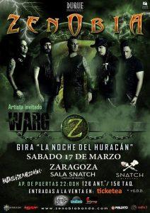 ZENOBIA + WARG @ SNATCH | Zaragoza | Aragón | España