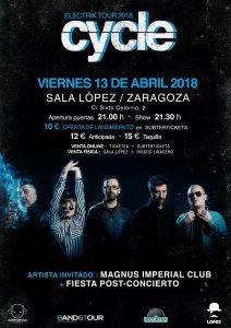 CYCLE + MAGNUS IMPERIAL CLUB @ SALA LÓPEZ | Zaragoza | Aragón | España