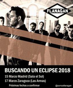 FLANAGAN @ LAS ARMAS | Zaragoza | Aragón | España