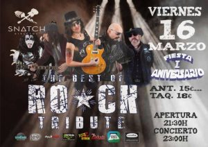 THE BEST OF ROCK TRIBUTE @ SNATCH CLUB   Zaragoza   Aragón   España