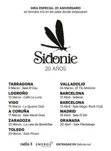 SIDONIE @ LA LATA DE BOMBILLAS | Zaragoza | Aragón | España