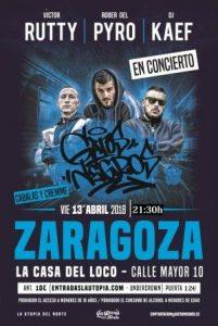 VÍCTOR RUTTY @ LA CASA DEL LOCO | Zaragoza | Aragón | España