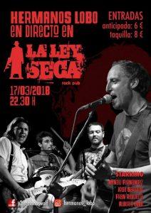 HERMANOS LOBO @ LA LEY SECA | Zaragoza | Aragón | España