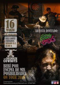 DRUNKEN COWBOYS + CROCOPULPOS @ SALA LÓPEZ | Zaragoza | Aragón | España