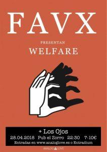 FAVX + LOS OJOS @ PUB EL ZORRO | Zaragoza | Aragón | España