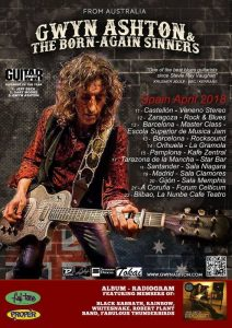 GWYN ASHTON @ ROCK AND BLUES | Zaragoza | Aragón | España