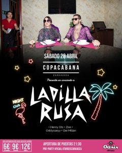 LADILLA RUSA @ OASIS | Zaragoza | Aragón | España