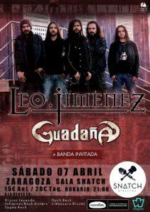 LEO JIMENEZ + GUADAÑA @ SNATCH CLUB | Zaragoza | Aragón | España