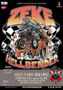 ZEKE + LA GRESCA @ SALA LÓPEZ | Zaragoza | Aragón | España