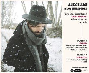 ÁLEX ELÍAS & LOS HUÉSPEDES + NØM @ LA LEY SECA | Zaragoza | Aragón | España