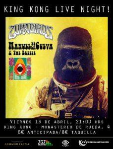 MANUEL DE LA CUEVA & THE BREEZE @ SALA KING KONG | Zaragoza | Aragón | España
