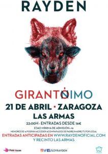 RAYDEN @ LAS ARMAS | Zaragoza | Aragón | España