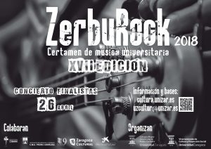 ZERBUROCK 2018 @ CMU PEDRO CERBUNA | Zaragoza | Aragón | España