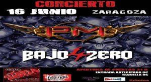 4 BAJO ZERO + PM @ SALA UTOPÍA | Zaragoza | Aragón | España
