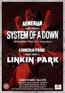 ARMENIAN + LINKOLN PARK @ SALA ZETA | Zaragoza | Aragón | España