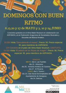 BANDA EL PICARRAL @ Alma Mater Museum | Zaragoza | Aragón | España
