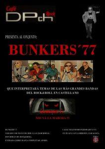 BUNKERS 77 @ CAFÉ DPch ROCK | Zaragoza | Aragón | España