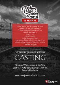 CASTING MUSICAL - PILAR JOVEN 2018 @ EL TÚNEL | Zaragoza | Aragón | España