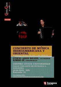 KIM-HO IP Y OTAVIO ASSIS BRASIL @ CENTRO CIVICO UNIVERSIDAD | Zaragoza | Aragón | España