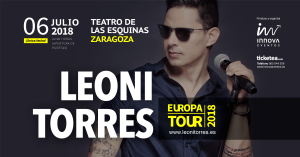 LEONI TORRES @ TEATRO DE LAS ESQUINAS | Zaragoza | Aragón | España