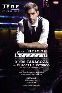 JERE @ EL POETA ELECTRICO | Zaragoza | Aragón | España