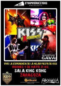 KISS EXPERIENCE @ SALA KING KONG | Zaragoza | Aragón | España