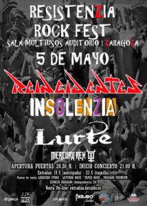RESISTENZIA ROCK FEST @ SALA MULTIUSOS | Zaragoza | Aragón | España