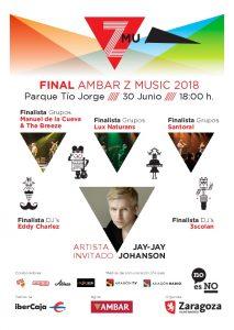 FINAL ÁMBAR Z MUSIC 2018 @ PARQUE TIO JORGE | Zaragoza | Aragón | España