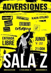 ADVERSIONES @ SALA ZETA   Zaragoza   Aragón   España