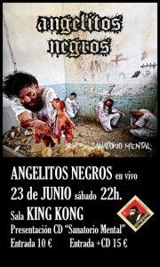 ANGELITOS NEGROS @ SALA KING KONG | Zaragoza | Aragón | España