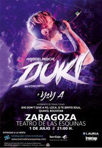 DUKI + YSY-A @ TEATRO DE LAS ESQUINAS | Zaragoza | Aragón | España
