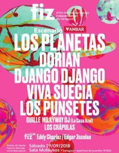 FIZ FESTIVAL 2018 @ SALA MULTIUSOS | Zaragoza | Aragón | España
