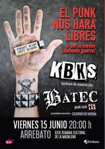 K.B.K.S. + BATEC @ AVV ARREBATO | Zaragoza | Aragón | España