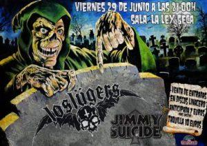 LOS LÜGERS + JIMMY SUICIDE @ LA LEY SECA | Zaragoza | Aragón | España