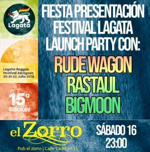 RUDEWAGON + RASTAUL + BIGMOON @ EL ZORRO | Madrid | Comunidad de Madrid | España