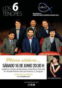 LOS 6 TENORES @ HOTEL DOÑA PETRONILA | Zaragoza | Aragón | España