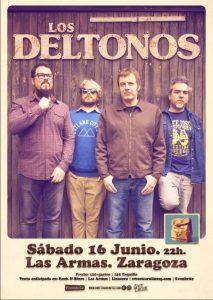 LOS DELTONOS @ LAS ARMAS | Zaragoza | Aragón | España