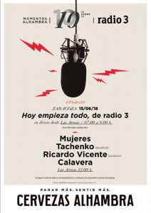 MUJERES + CALAVERA + TACHENKO + RICARDO VICENTE @ LAS ARMAS | Zaragoza | Aragón | España
