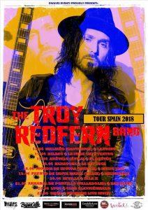 THE TROY REDFERN BAND @ LA LEY SECA | Zaragoza | Aragón | España