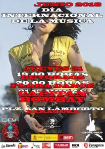 DÍA INTERNACIONAL DE LA MÚSICA @ PLAZA DEL ROCK | Zaragoza | Aragón | España