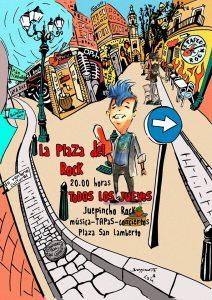 JUEPINCHO ROCK @ PLAZA DEL ROCK | Zaragoza | Aragón | España